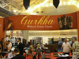 A Visit to the Gurkha Cigar Lounge – The Challenge (Tales from the IPCPR in New Orleans Part 4)