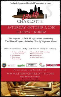 Lite Up Charlotte – October 2nd in Charlotte!
