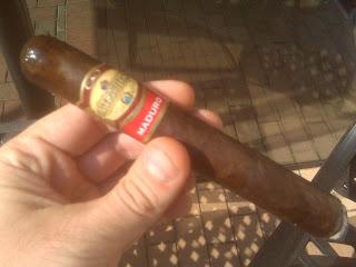 Cigar Review: CAO La Traviata Maduro