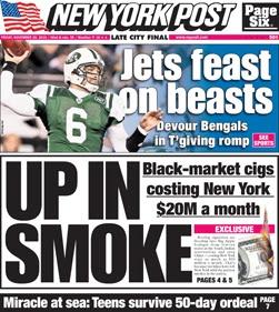 """Pleasure Police:  Virtual """"Tobacco"""" Prohibition in New York State"""