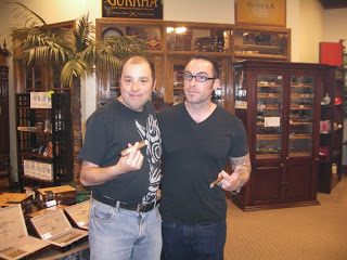 Event Recap: Matt Booth in Charlotte at Outland Cigars