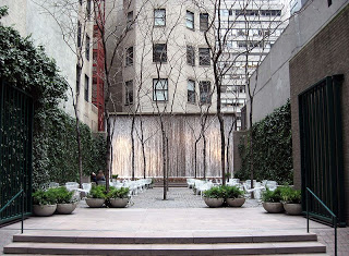 Feature Story: Cigar Friendly Park in NYC: Samuel Paley Park