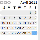 Month in Review: April 2011