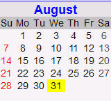 Month in Review: August 2011