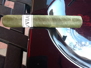 Cigar Review: Viaje White Label Project (WLP) St. Patrick's Day Candela 2012