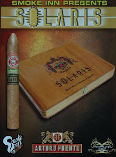 Press Release: Smoke Inn's Fourth Installment of Their Microblend Series, Solaris By Arturo Fuente, To Be Released This Month