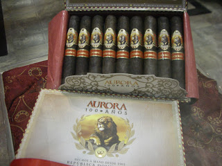 Cigar Preview: La Aurora Cien Anos Maduro