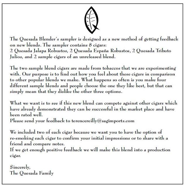 News: Quesada Blender's Sampler