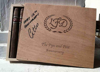 News: La Flor Dominicana Anniversary Cigar Coming to Pipe and Pint in Greensboro NC