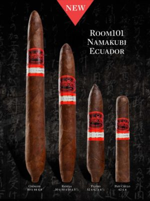 News: Room 101 Announces Sizes for Room 101 Namakubi Ecuador