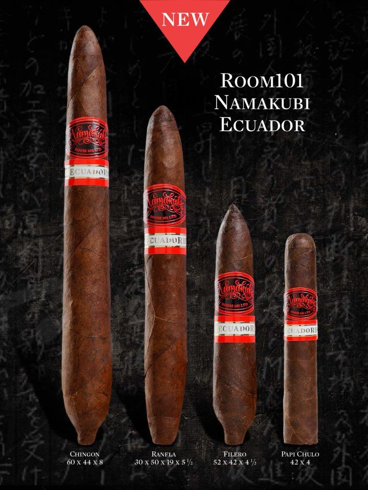 News: Room 101 Announces Sizes for Room 101 Namakubi Ecuador