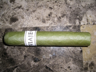 Cigar Review: Viaje White Label Project (WLP) St. Patrick's Day Candela 2013