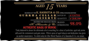 News: Gurkha Announces Cellar Reserve Limitada