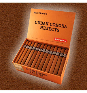 Press Release: New Cuban Corona Shape for Nat Cicco Rejects and Repackaged Jamaican Rounds Premium Cigars