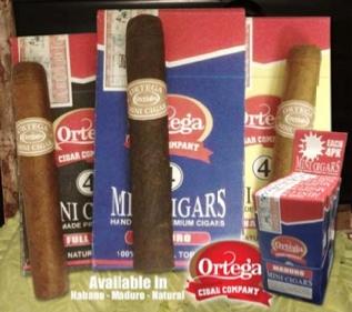 Cigar Preview: Ortega Mini Cigars