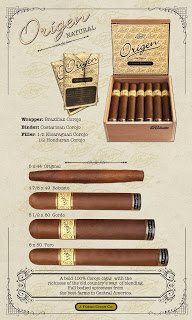 Cigar Preview: J. Fuego Origen Natural and Maduro Line Extensions – 5 1/2 x 60