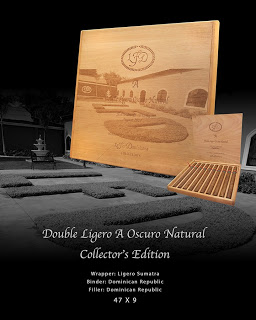 """Cigar Preview: La Flor Dominicana Double Ligero Line Extensions – Double Ligero """"A"""" Oscuro Natural Collector's Edition and DL-854"""