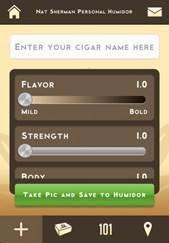 cigar news: nat sherman announces personal humidor mobile
