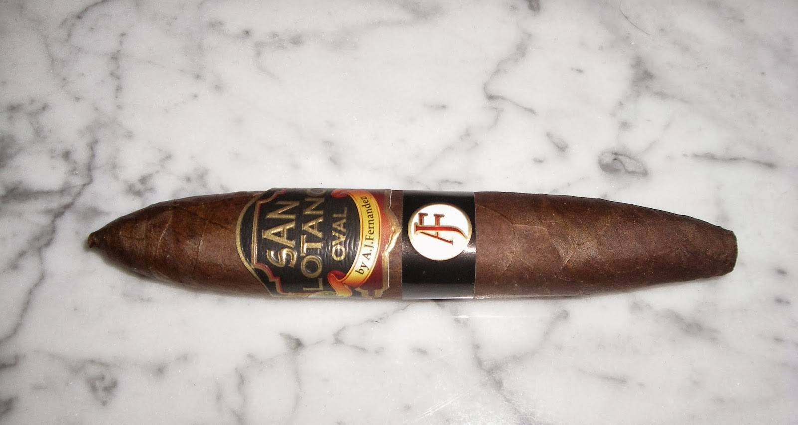 Cigar Review: San Lotano Oval Habano Limited Edition Pigskin Super Smoke Figurado XLVIII