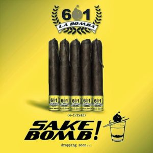 Cigar News: 601 La Bomba Sake Bomb by Espinosa Cigars Announced on Cigar Dojo Smoke Night LIVE