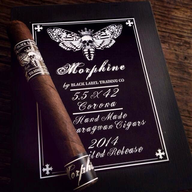 Cigar News: Black Label Trading Company Morphine to Feature Double Maduro Wrapper (Cigar Preview)