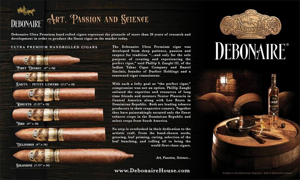 Cigar News: Debonaire Cigars Shows Off Debonaire First Degree