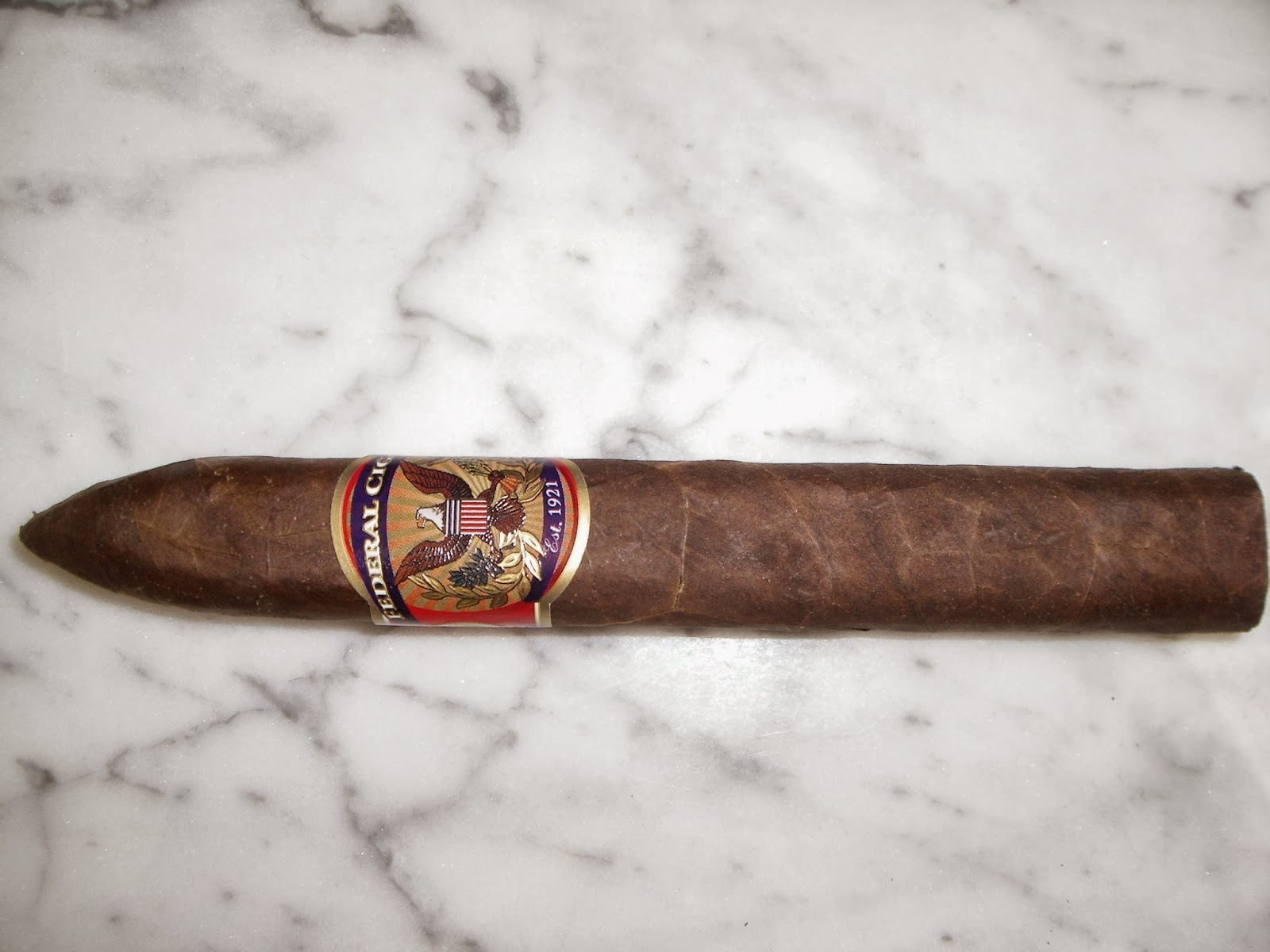 Cigar Review: Federal Cigar 93rd Anniversary Reserve No. 2 by Oliva
