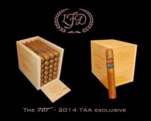 Cigar News: La Flor Dominicana TAA Exclusive – The 707 to be 2014 TAA Release (Cigar Preview)