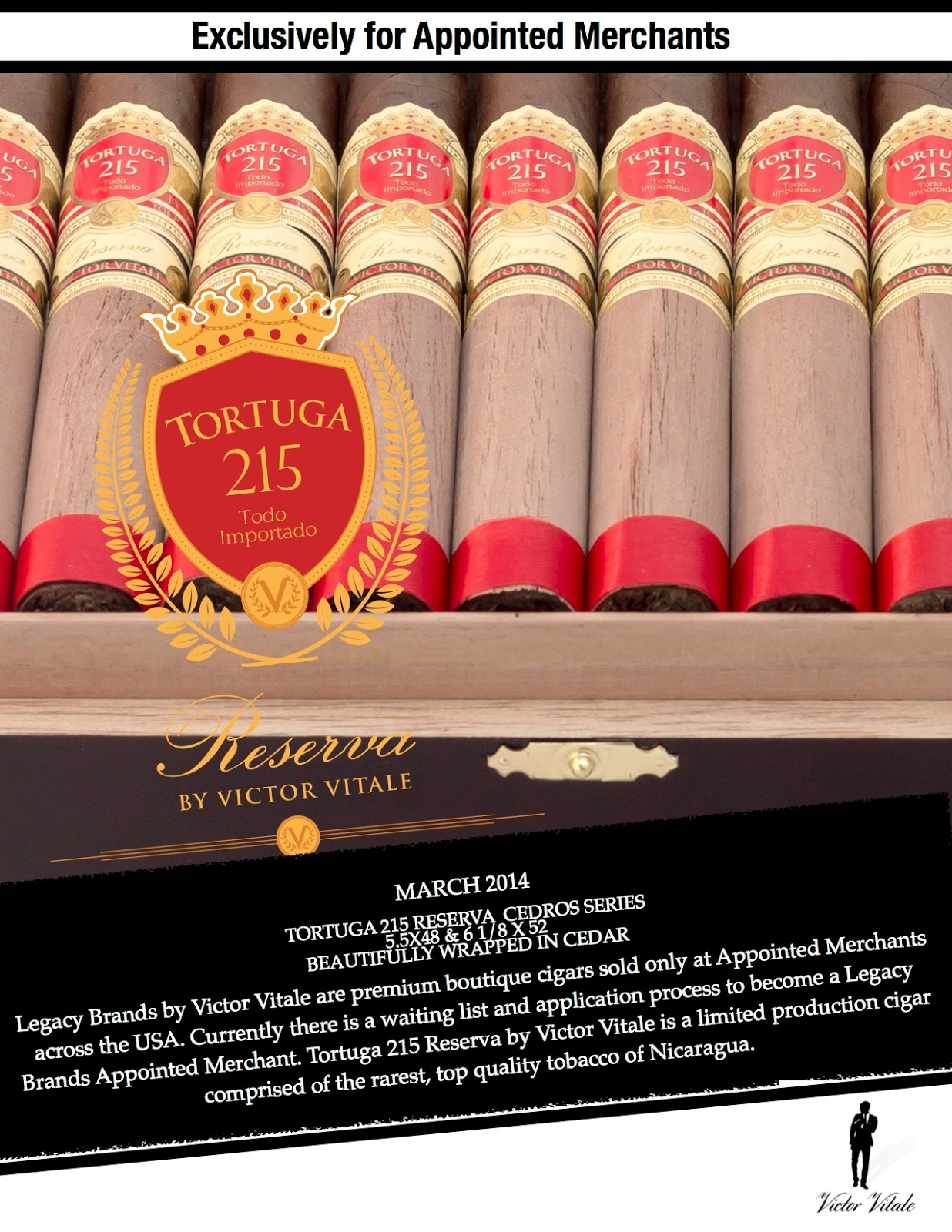 Cigar News: Tortuga 215 Cedro Belicoso Becomes Second Cedro Vitola (Cigar Preview)