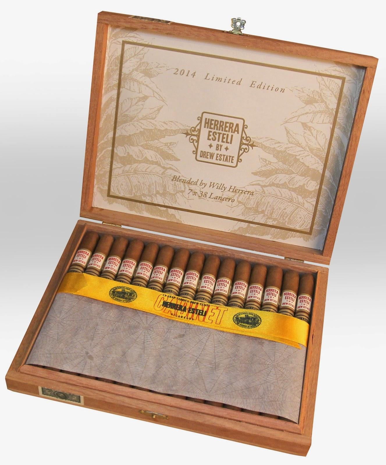 Cigar News: Herrera Esteli Lancero – Edicion Limitada 2014 Nears Shipping (Cigar Preview)