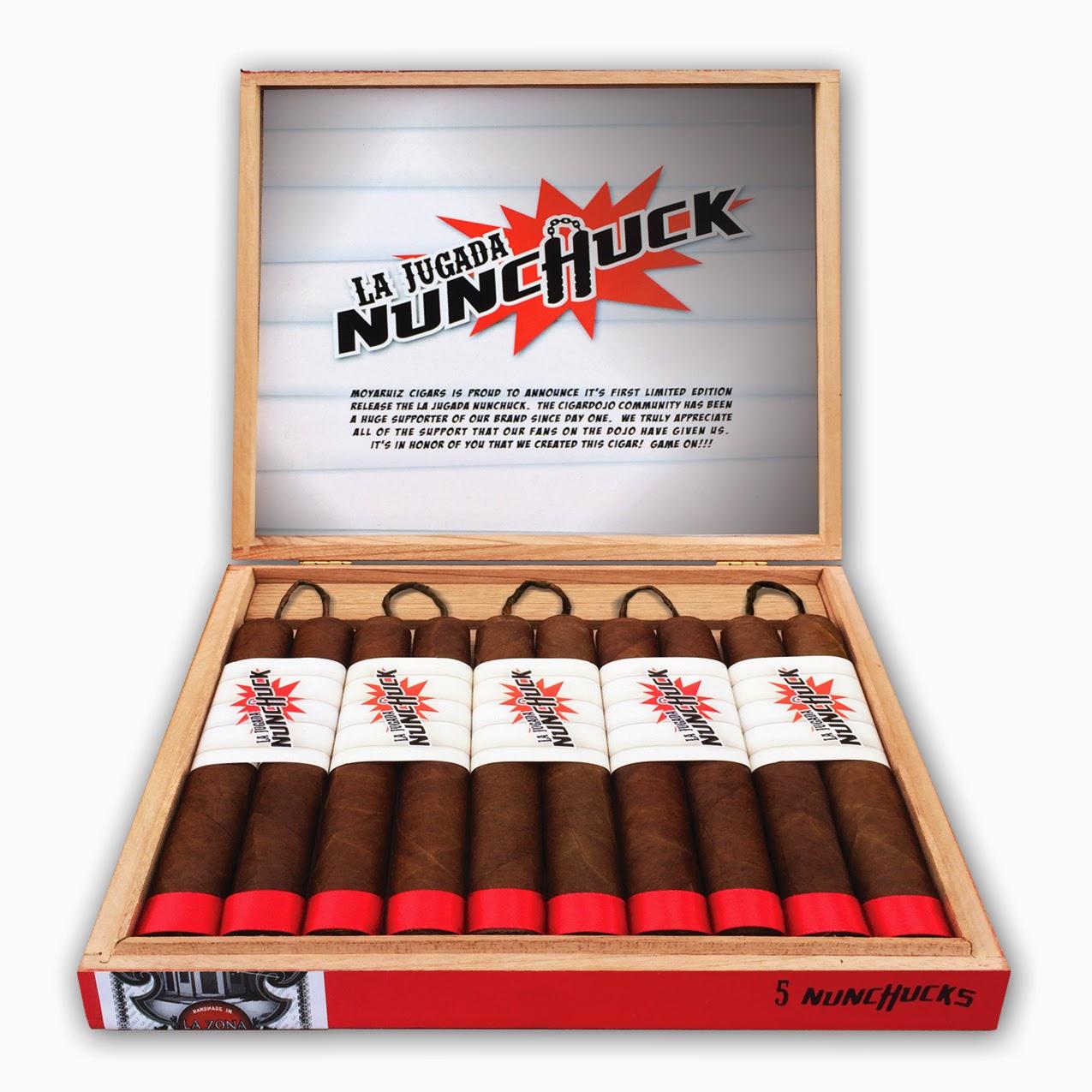 Cigar News: Moya Ruiz Cigars Officially Announces La Jugada Nunchuck (Cigar Preview)