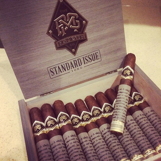 Cigar News: BG Meyer Co By Camacho Launches, Announces BG Meyer Standard Issue (Cigar Preview)