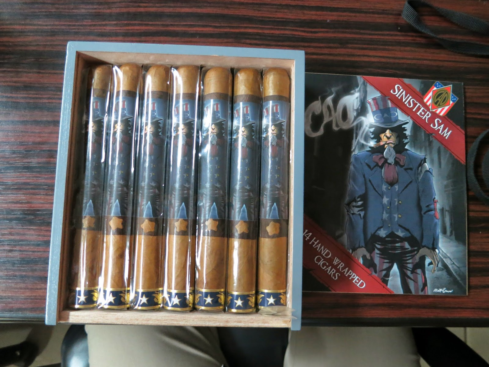 Cigar News: CAO Sinister Sam (Cigar Preview)