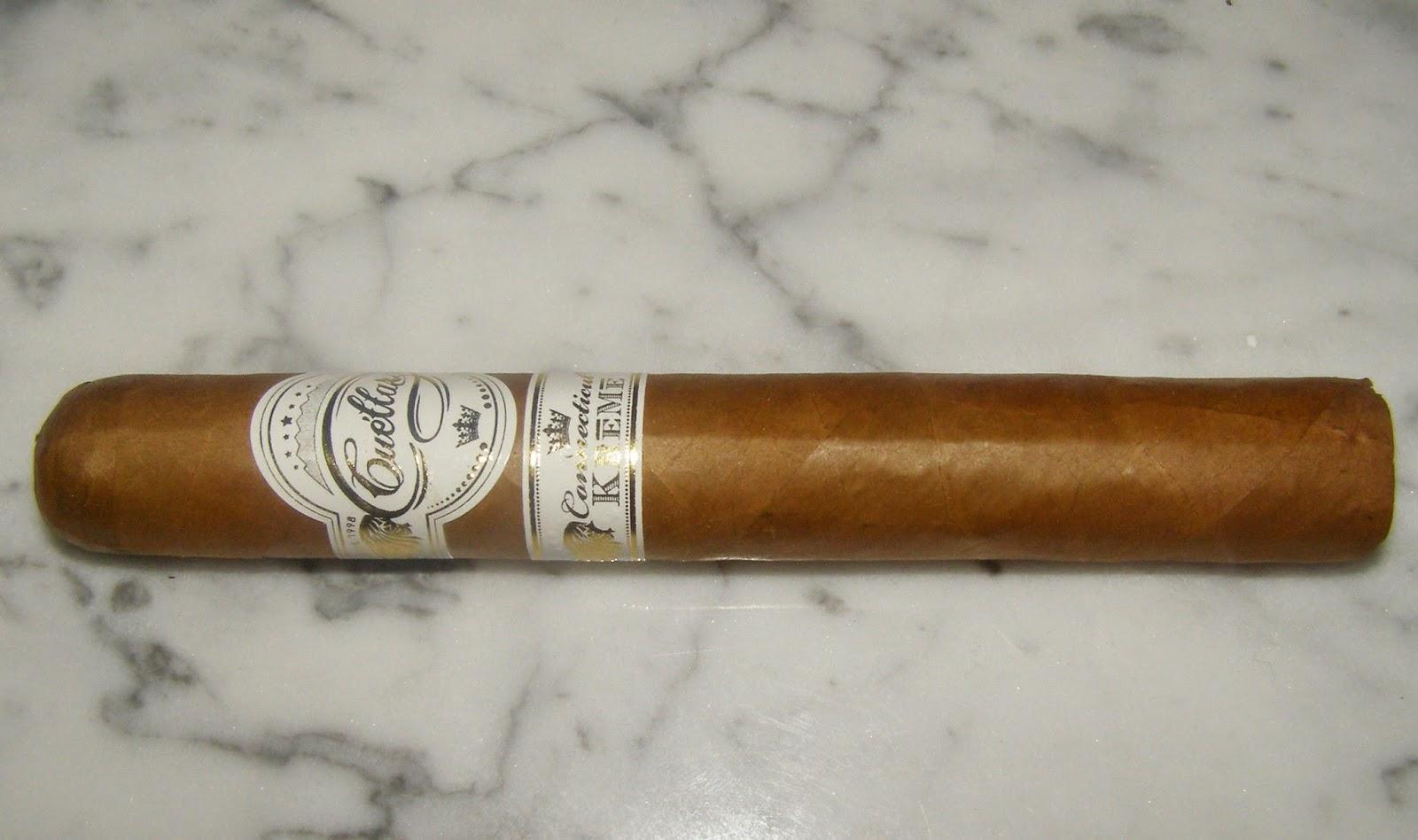 Cigar Review: Cuéllar Connecticut Krēmē by Villiger Cigars
