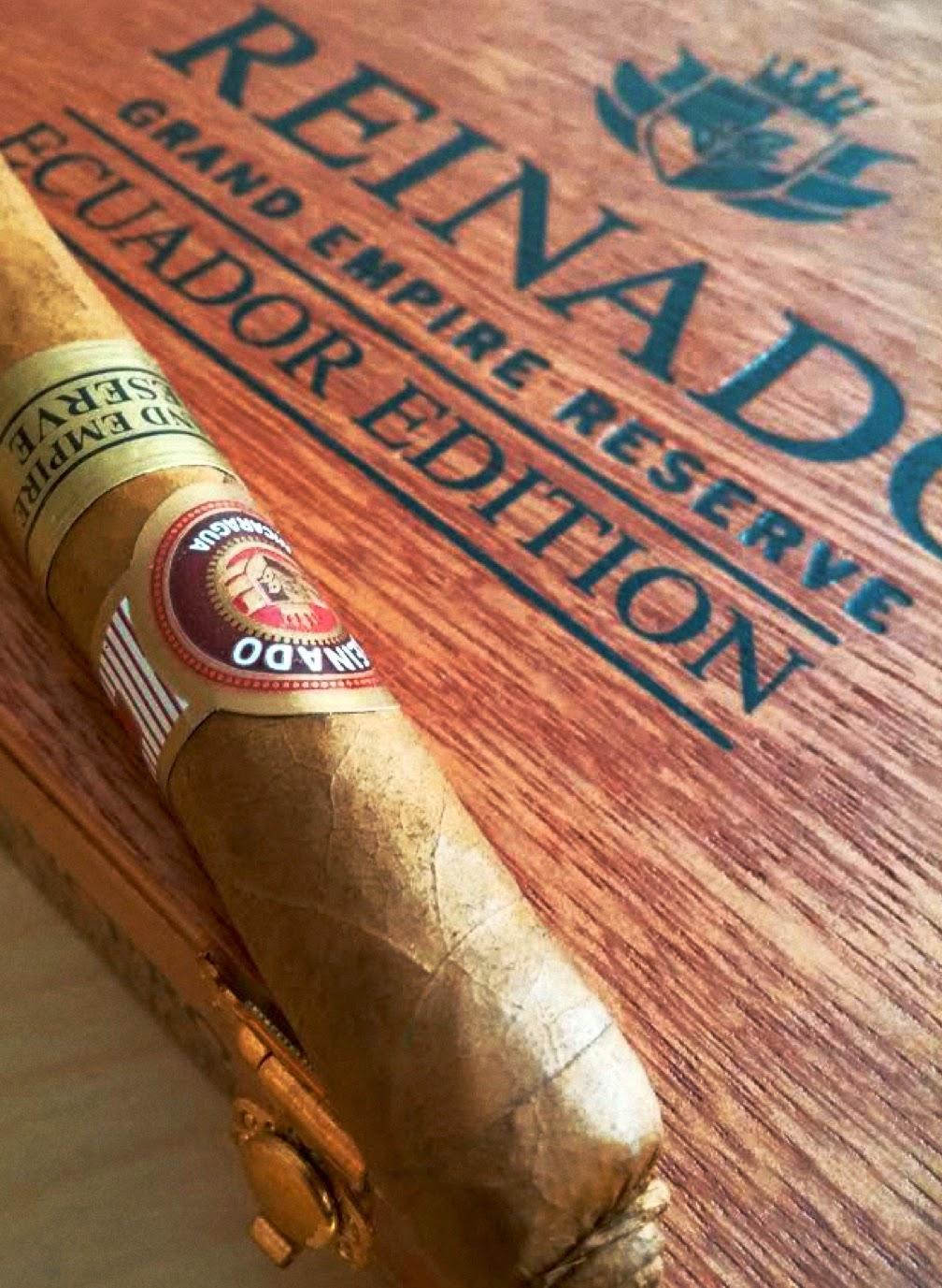 Cigar News: REINADO announces First Grand Empire Reserve Ecuador Edition (Cigar Preview)