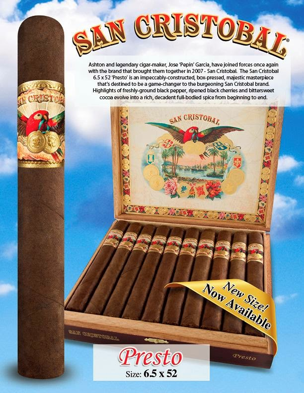 Cigar News: San Cristobal Presto (Cigar Preview)