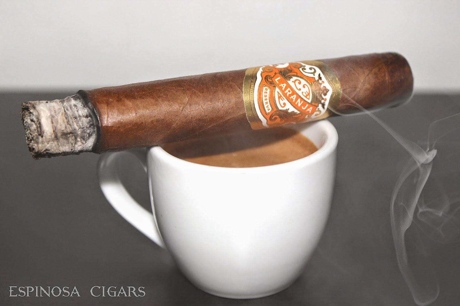 LARANJA RESERVA BY ESPINOSA CIGARS REVIEW - The Cigar King BlogThe ...