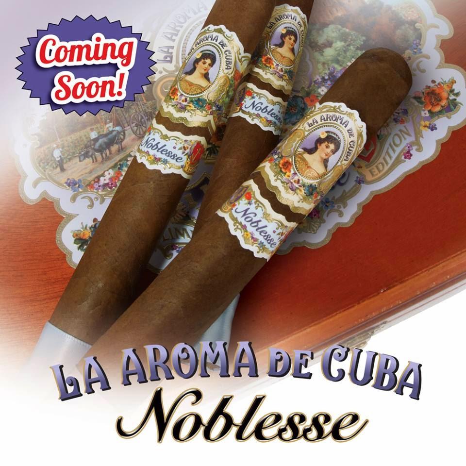 Cigar News: La Aroma de Cuba Noblesse by Ashton Cigars (Cigar Preview)