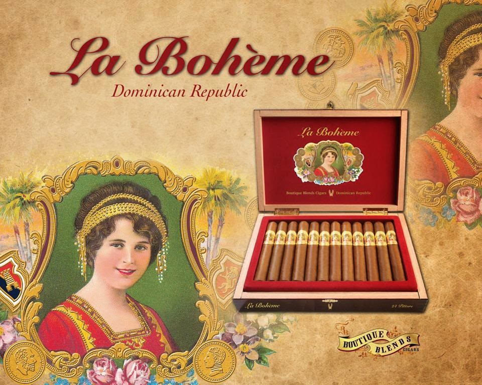 Cigar News: La Bohéme by Boutique Blends Cigars (Cigar Preview)