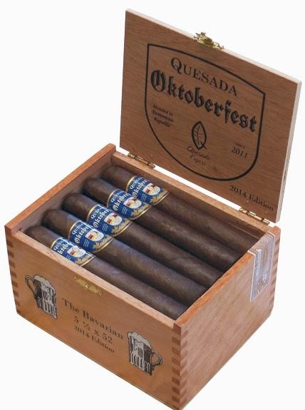 Cigar News: Quesada Oktoberfest 2014 Gets New Band, Adds Salomon Press For Events