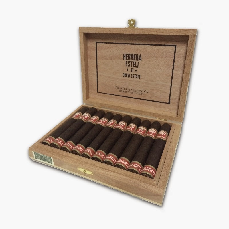 """Cigar News: Drew Estate Launches """"Tienda Exclusiva by Willy Herrera"""" with Initial Release to Barrister Cigars"""