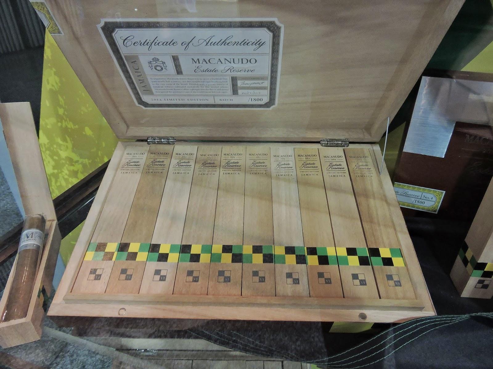 Cigar News: Macanudo Estate Reserve 2014 – Limited Edition Jamaica (Cigar Preview)