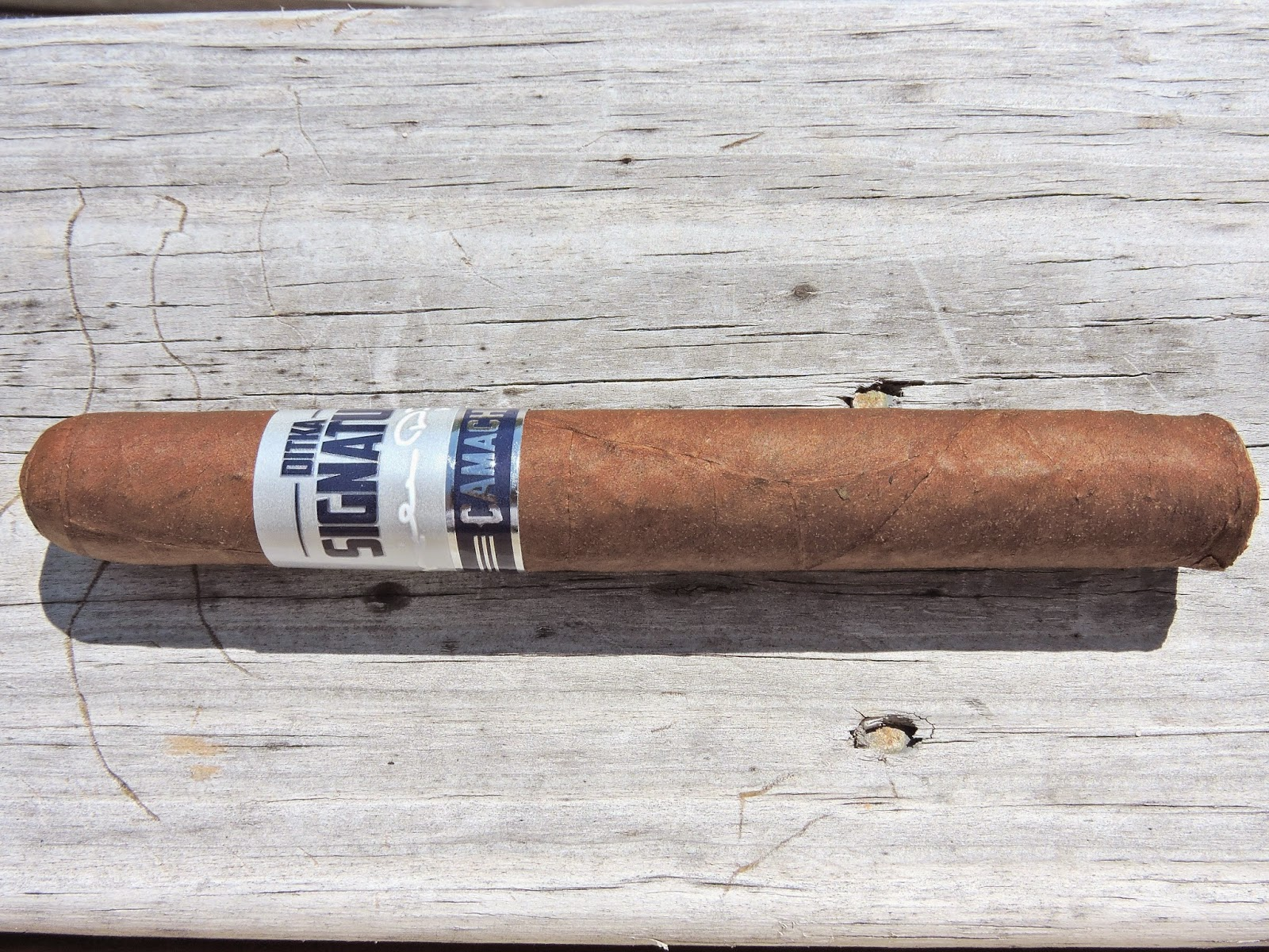 Cigar Review: Ditka Signature by Camacho Cigars