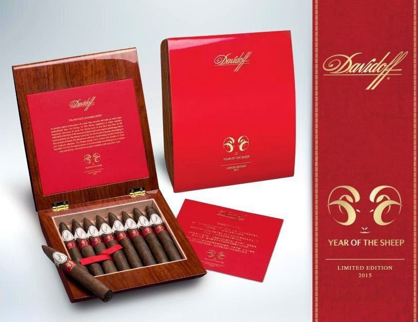 Cigar News: Davidoff 2015 Year of the Sheep (Cigar Preview)