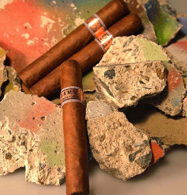 Cigar News: Hammer + Sickle Berlin Wall Series Celebration Short Corona
