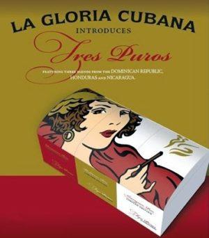 Cigar News: La Gloria Cubana Tres Puros Released