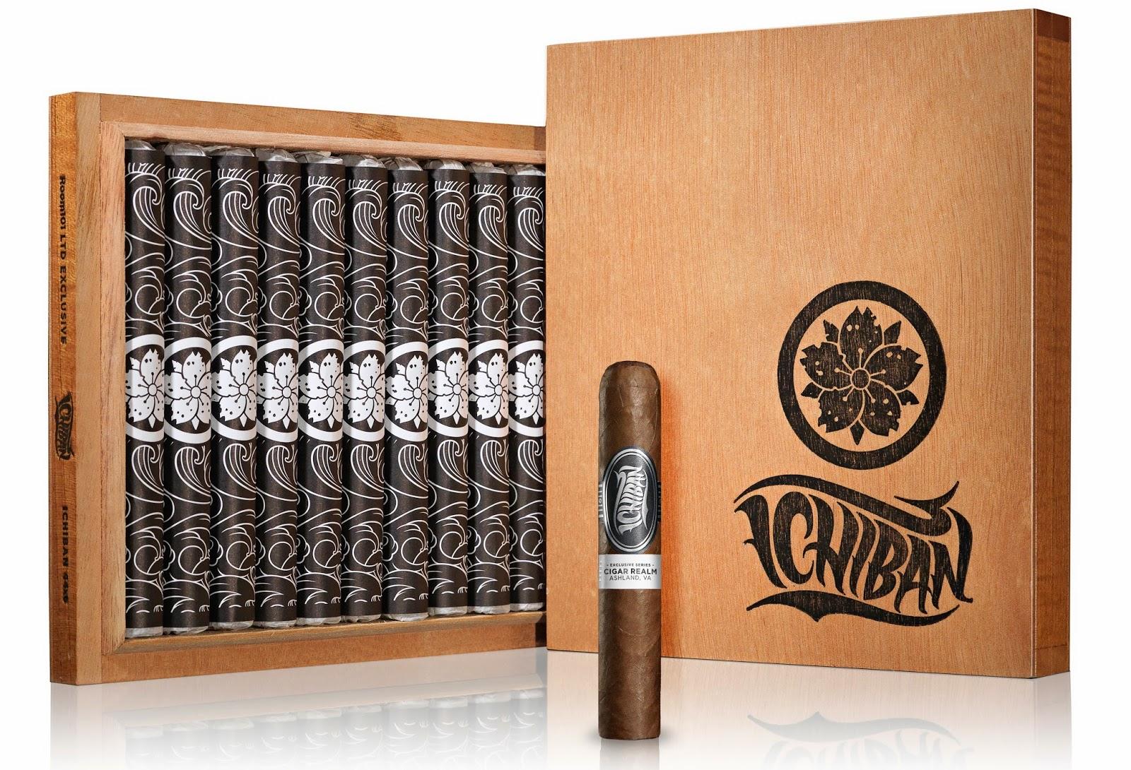 Cigar News: Room101 Ichiban Roxxo Heading to Cigar Realm in Ashland, Virginia