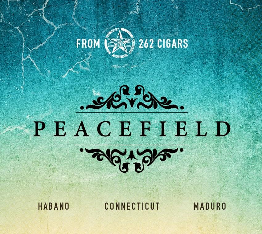 Cigar News: 262 Cigars Announces Peacefield Line