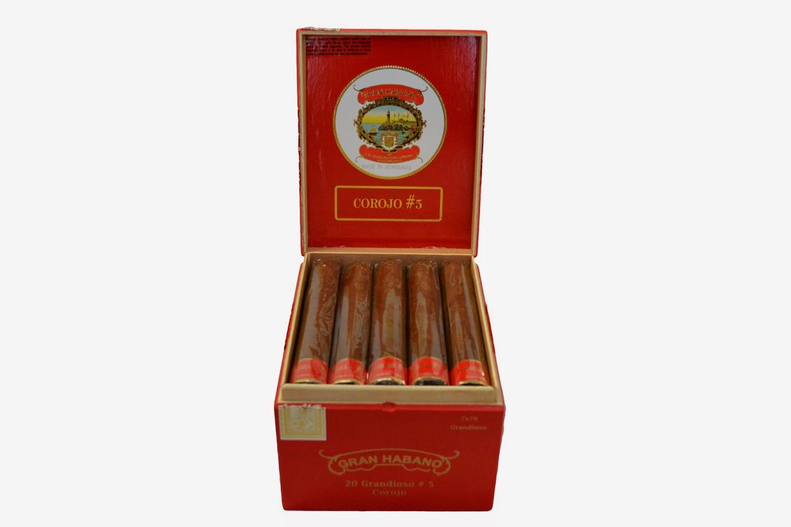 Cigar News: Gran Habano Corojo #5 Grandioso