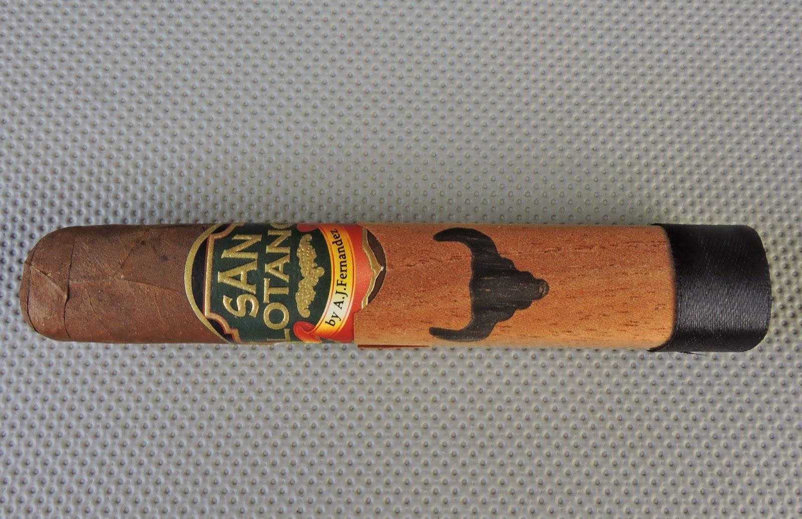 Cigar Review: San Lotano – The Bull Robusto by A.J. Fernandez Cigars